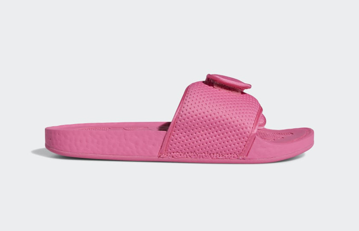 Pharrell William Boost Slide Semi Solar Pink FV7289 06
