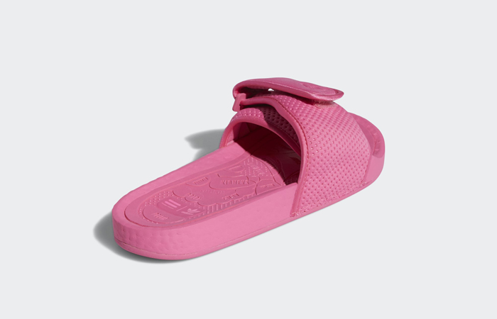 Pharrell William Boost Slide Semi Solar Pink FV7289 08