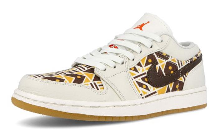 Quai 54 Air Jordan 1 Low Baroque Brown CZ4155-100 03