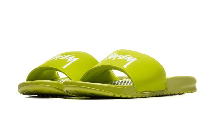 Stussy Nike Benassi Bright Cactus CW2787-300 02