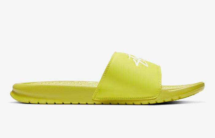 Stussy Nike Benassi Bright Cactus CW2787-300 03