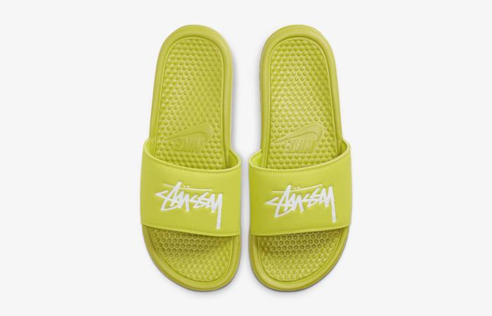 Stussy Nike Benassi Bright Cactus CW2787-300 04
