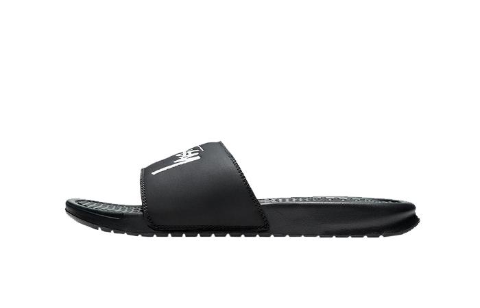 Stussy x Nike Benassi Off Noir CW2787-001 01
