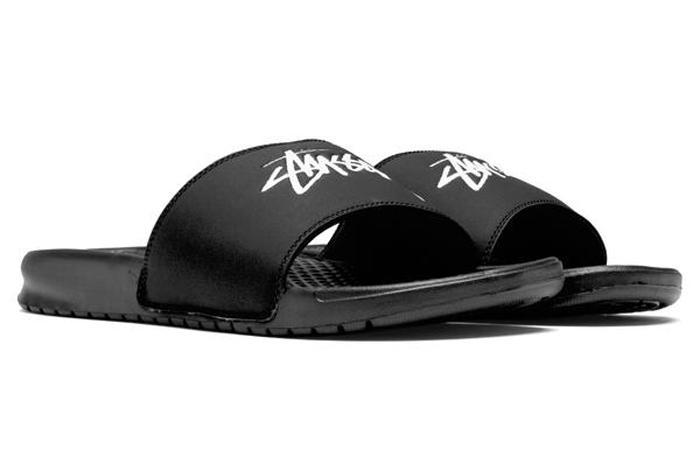 Stussy x Nike Benassi Off Noir CW2787-001 02