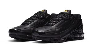 The New Nike Air Max Plus III Received Black Leather Upper