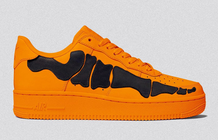 The Nike Air Force 1 Orange Skeleton Set To Drop This Halloween f