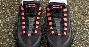 Nike Air Max 95 Anthracite Red Colour