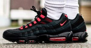 "The Nike Air Max 95 Features ""Anthracite Red"" Colour!"
