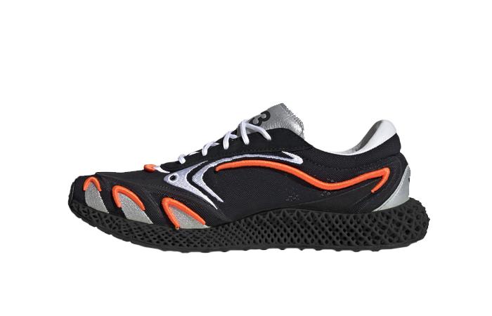 adidas Y3 Runner 4d Black Metallic Silver FU9208 01