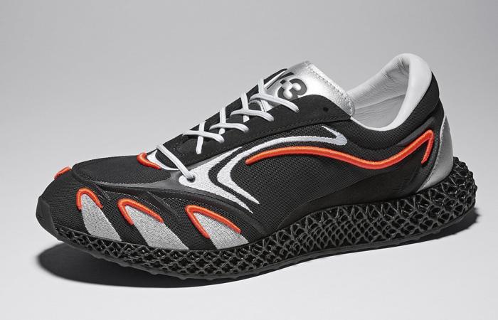 adidas Y3 Runner 4d Black Metallic Silver FU9208 02