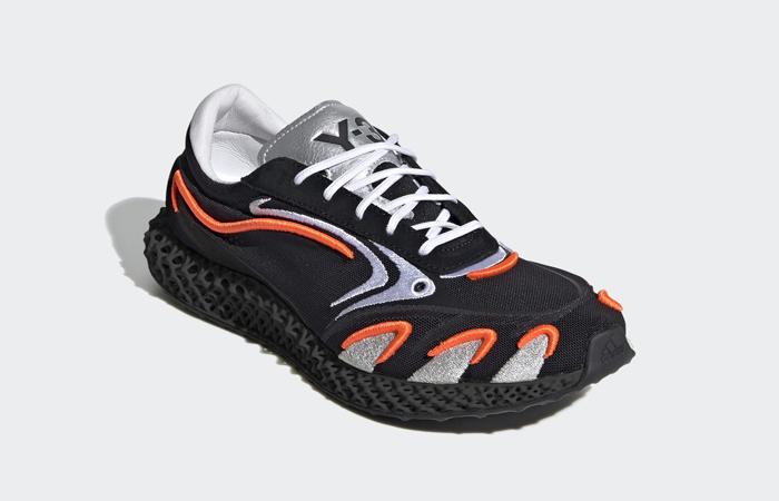 adidas Y3 Runner 4d Black Metallic Silver FU9208 05