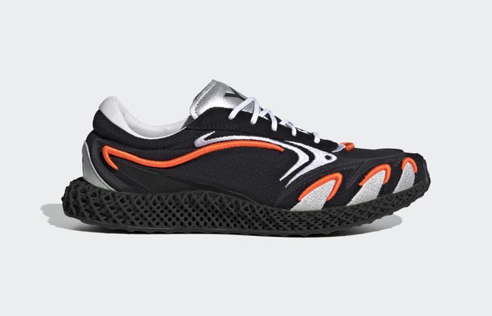 adidas Y3 Runner 4d Black Metallic Silver FU9208 06