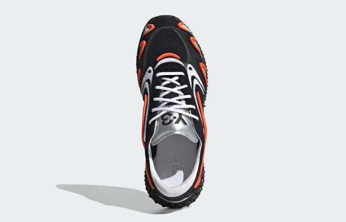 adidas Y3 Runner 4d Black Metallic Silver FU9208 07