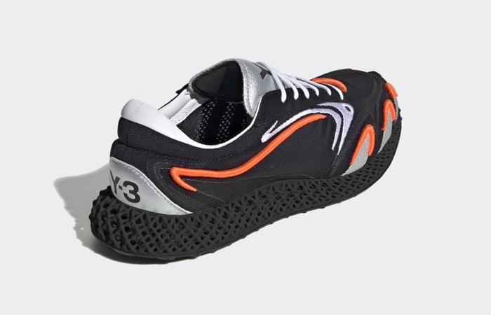 adidas Y3 Runner 4d Black Metallic Silver FU9208 08