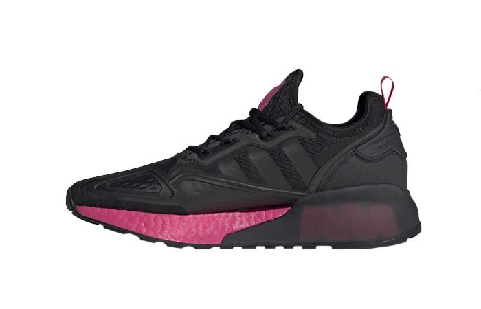 adidas ZX 2K Boost Black Shock Pink FV8986 01