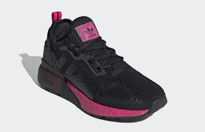 adidas ZX 2K Boost Black Shock Pink FV8986 02