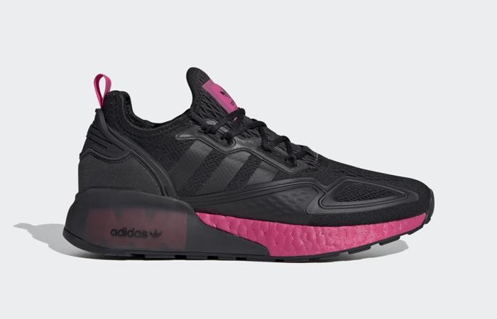 adidas ZX 2K Boost Black Shock Pink FV8986 03