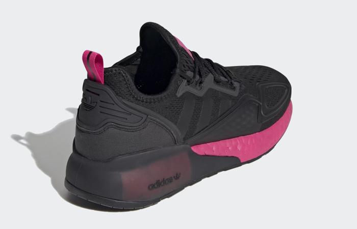 adidas ZX 2K Boost Black Shock Pink FV8986 05