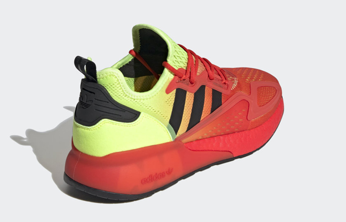 adidas ZX 2K Boost Fire Red FW0482 06