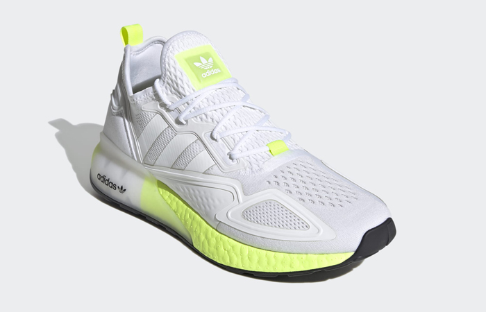 adidas ZX 2K Boost White Solar Yellow FW0480 02