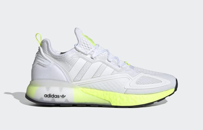 adidas ZX 2K Boost White Solar Yellow FW0480 03