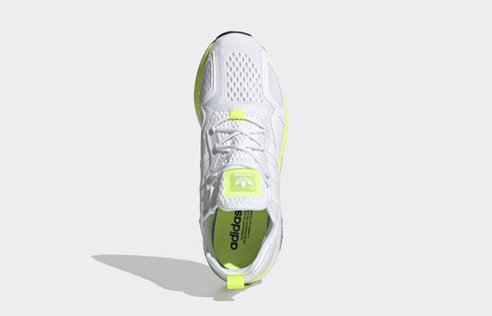 adidas ZX 2K Boost White Solar Yellow FW0480 04