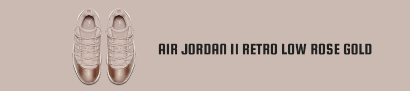 Air Jordan 11 Retro Low Rose Gold