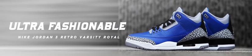Nike Jordan 3 Retro Varsity Royal
