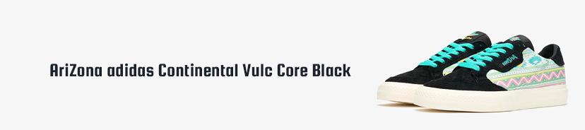 AriZona adidas Continental Vulc Core Black