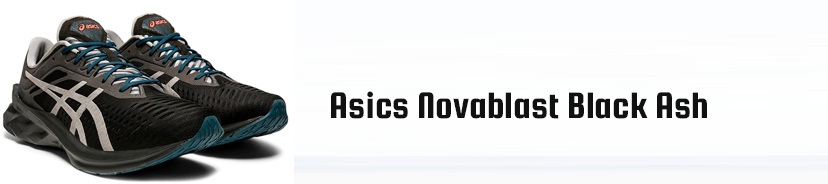 Asics Novablast Black Ash