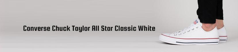 Converse Chuck Taylor All Star Classic White