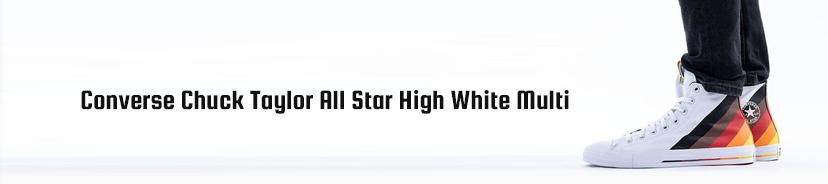 Converse Chuck Taylor All Star High White Multi