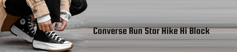 Converse Run Star Hike Low Top Black