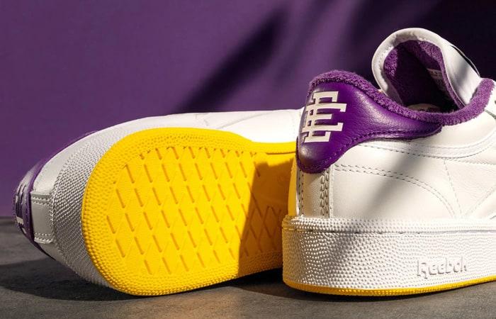 Eric Emanuel Reebok Club C 85 White Purple Yellow FY3411 04