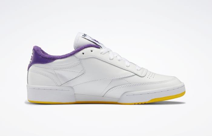 Eric Emanuel Reebok Club C 85 White Purple Yellow FY3411 06
