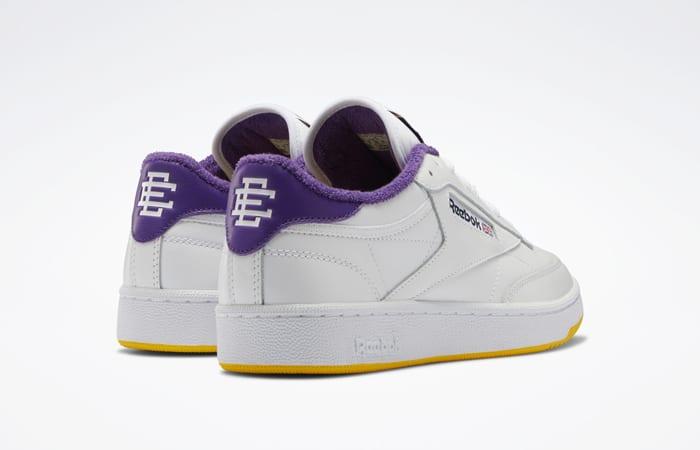 Eric Emanuel Reebok Club C 85 White Purple Yellow FY3411 08