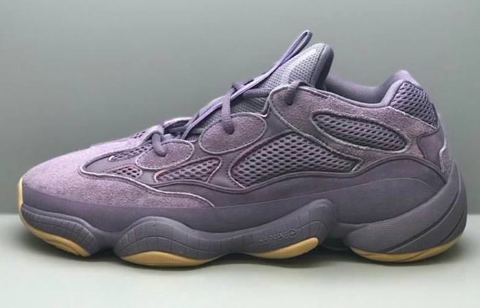 First Look At The adidas Yeezy 500 'Lavender' f