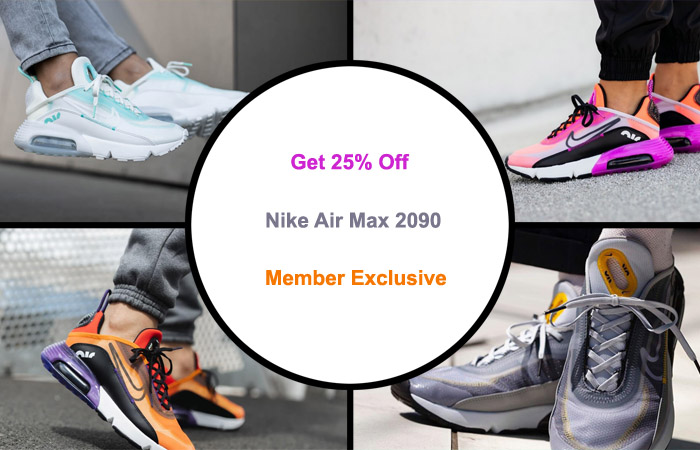 Get 25% Off On These Hot Nike Air Max 2090 - Member Exclusive ft
