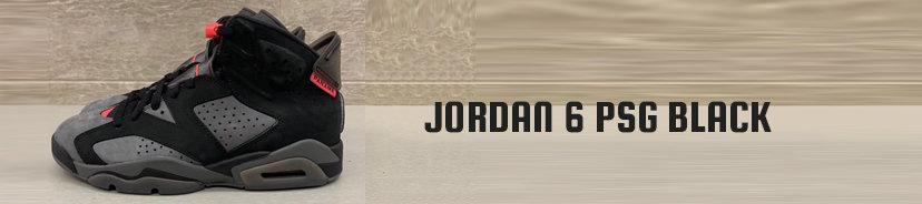 Jordan 6 PSG Black