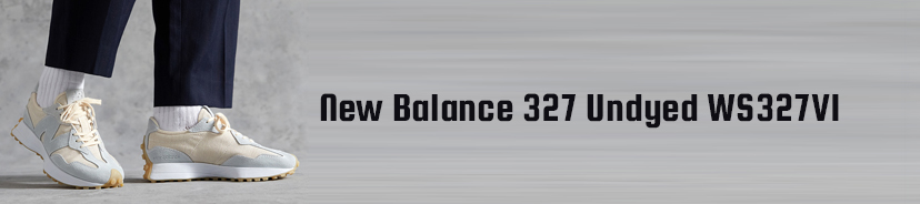 New Balance 327 Undyed