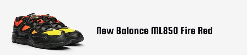 New Balance ML850 Fire Red