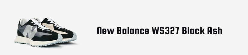 New Balance WS327 Black Ash