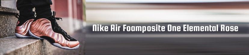 Nike Air Foamposite One Elemental Rose