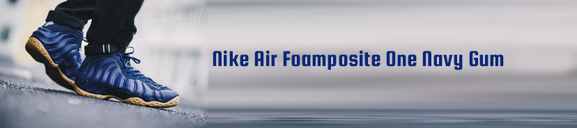 Nike Air Foamposite Pro Dark Navy