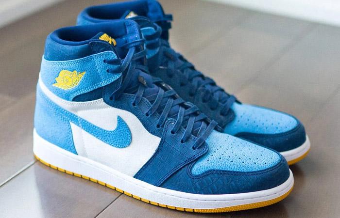 Nike Air Jordan 1 'Marquette' PE Has Unveiled f