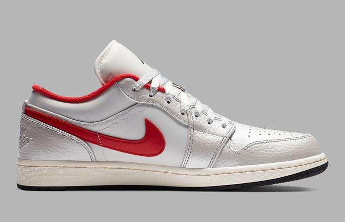Nike Air Jordan 1 Low Premium Grey University Red DA4668-001 03