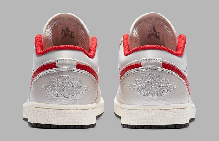 Nike Air Jordan 1 Low Premium Grey University Red DA4668-001 05