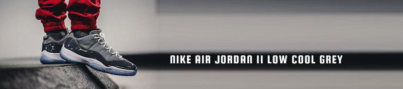 Nike Air Jordan 11 Low Cool Grey