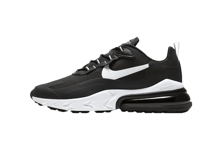 Nike Air Max 270 React Black White CI3866-004 01