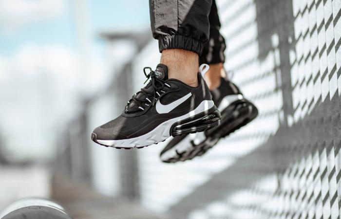 Nike Air Max 270 React Black White CI3866-004 02
